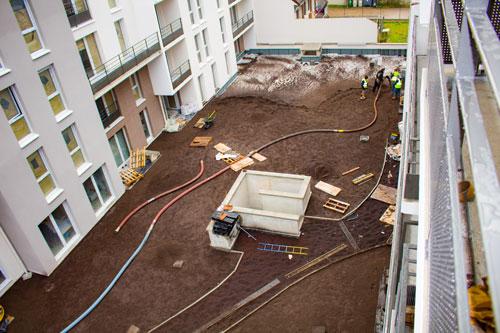 LE CHALLENGE-TERREOLE-Villepinte-patio-entre-immeubles-habitation