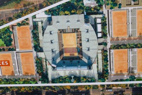 TERREOLE-Roland-Garros-Court-Suzanne-Lenglen-vue-aerienne
