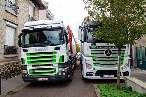 TERREOLE-Vanves-chargement-de-express-Blower par-camion-grue